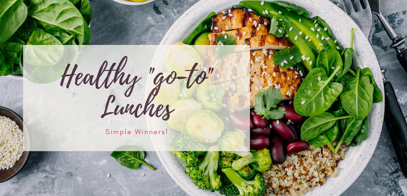 Healthy Go To Lunches from May Simpkin