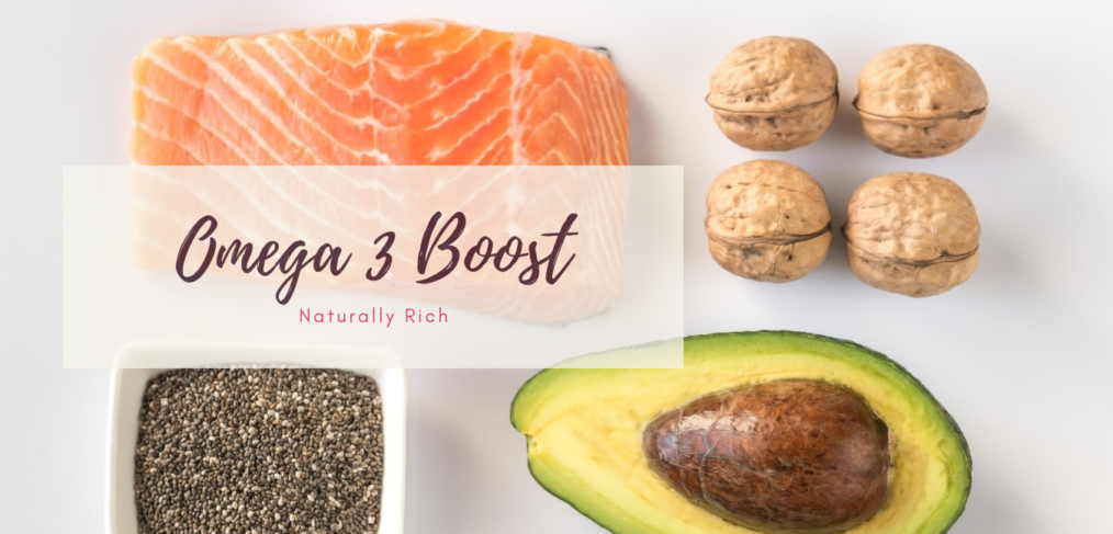 Omega 3 boost meals from May Simpkin