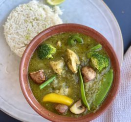 Easy Thai Chicken Green Curry Recipe from May Simpkin