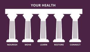 The New Healthy 5 pillar of health