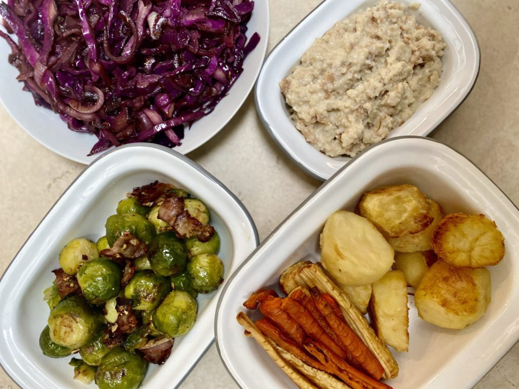 Easy Festive sides with May Simpkin