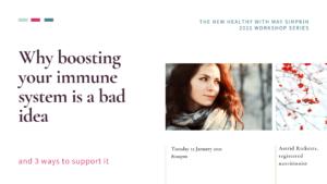 The New Healthy Immune Workshop