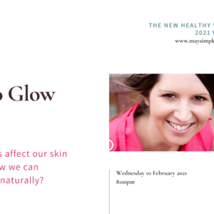 Skin Health workshop in The New Healthy with May Simpkin