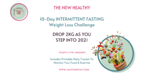 Intermittent Fasting Weight Loss Challenge with May Simpkin