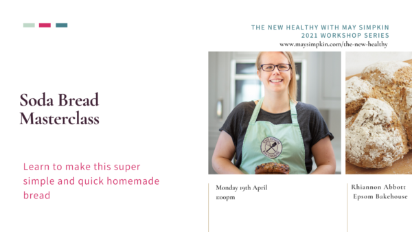 Making Soda Bread in The New Healthy with May Simpkin
