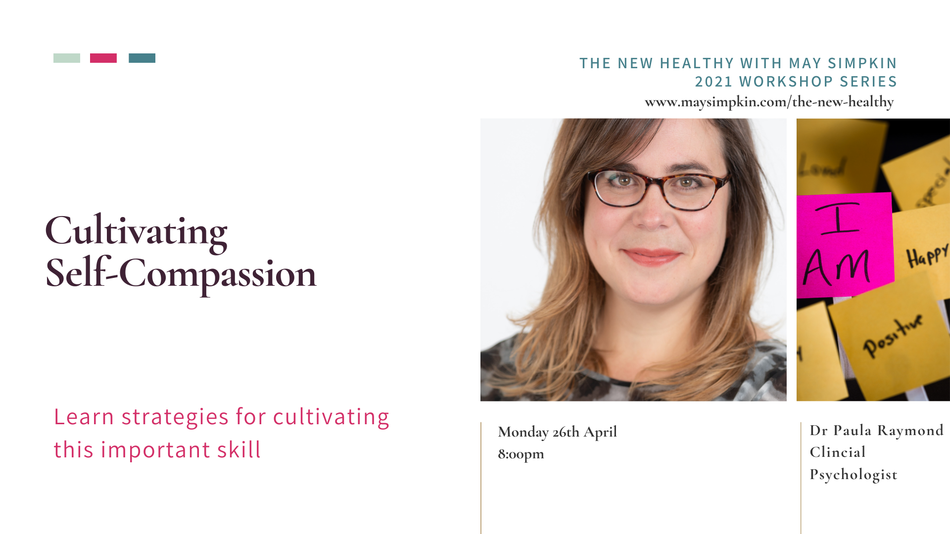 Cultivating self Compassion in the New Healthy with May Simpkin