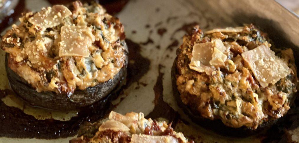Baked Stuffed Mushrooms with May Simpkin