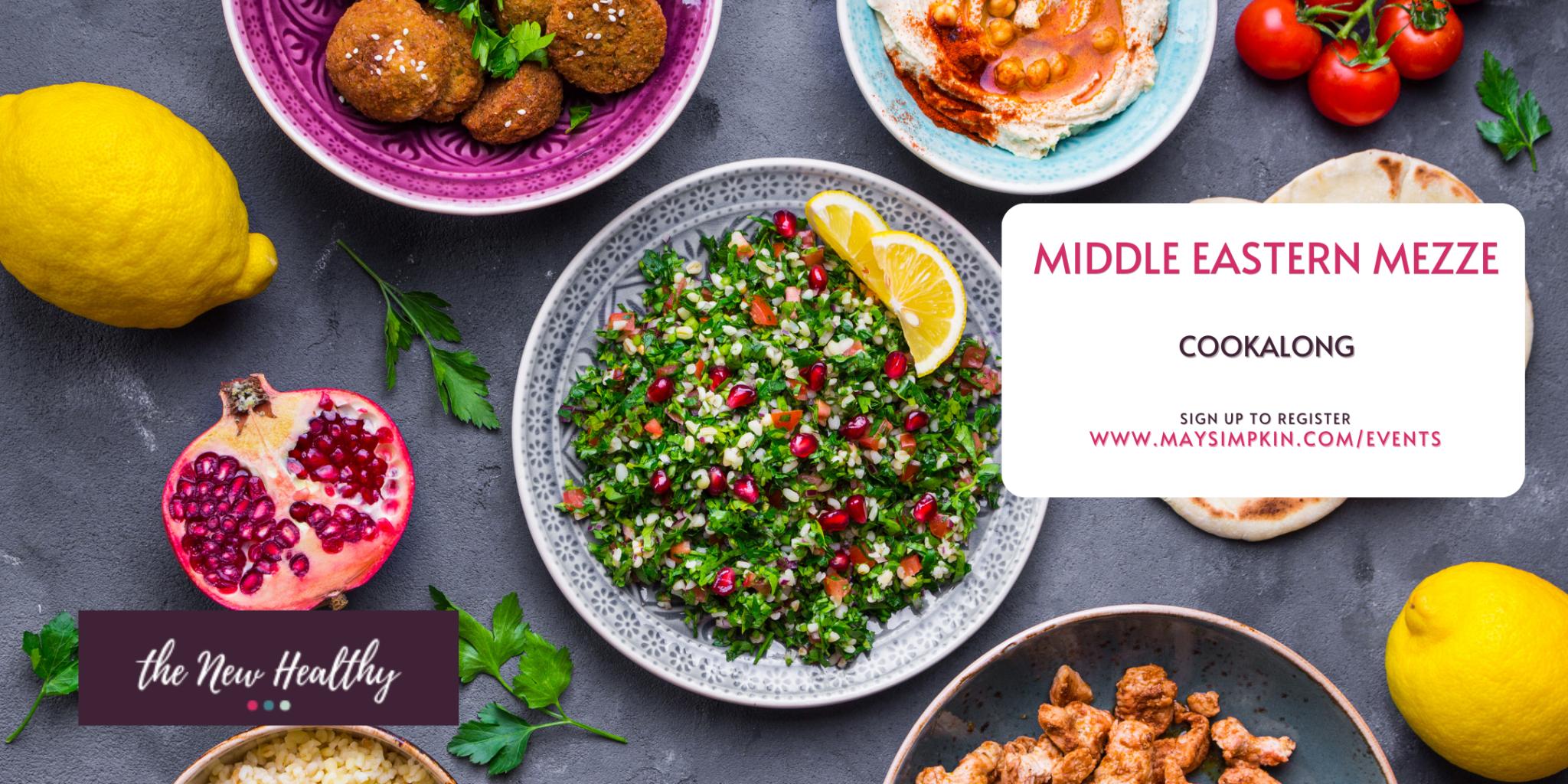 Middle Eastern Mezze Cookalong