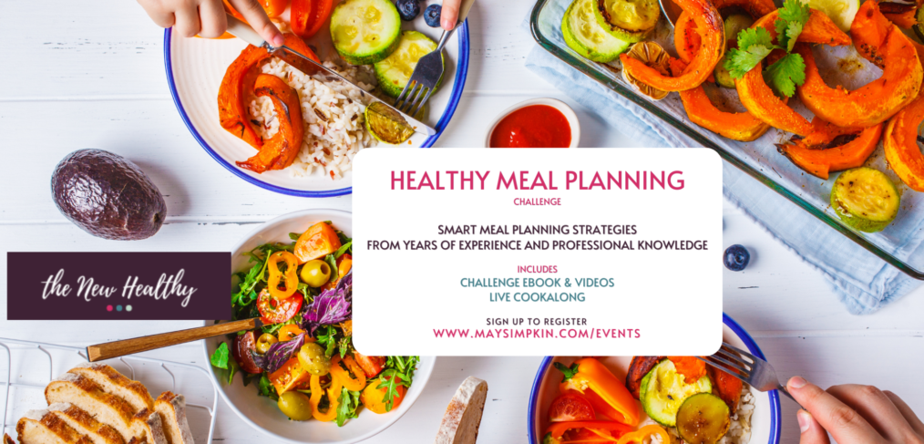 Healthy Meal Planning Live Cookalong with May Simpkin