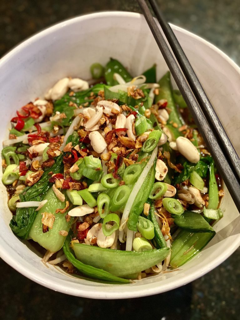 Quick Vegan Aromatic Asian Noodle Soup with May Simpkin