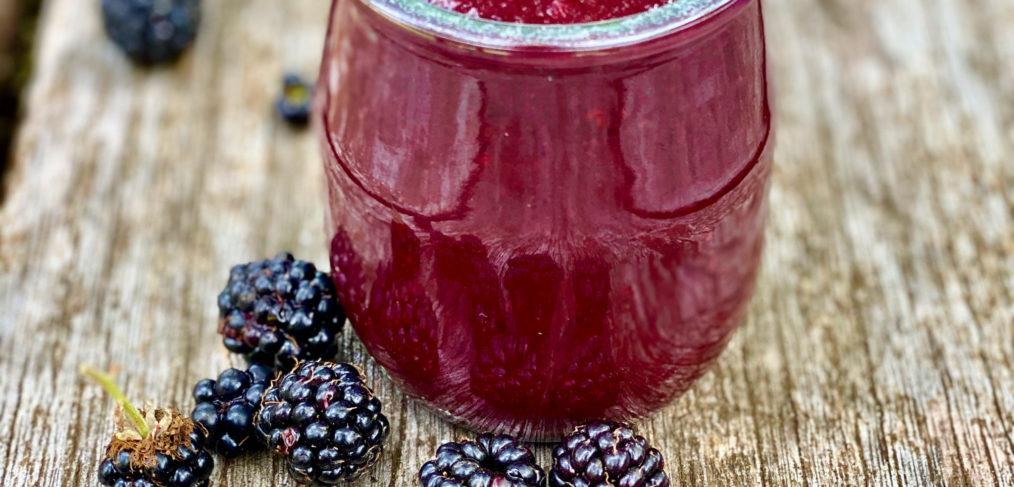 Healthy Blackberry Ketchup